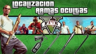 getlinkyoutube.com-GTA V Localizacion armas ocultas Palo de Golf, Bate, Palanca y Coctel Molotov