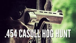 getlinkyoutube.com-Hog Hunting with .454 Casull Taurus Raging Bull