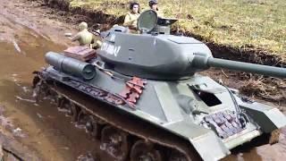 1/16 rc T-34/85 & BA-64