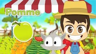 getlinkyoutube.com-Fruits in French for Kids - أسماء الفواكه باللغة الفرنسية للأطفال
