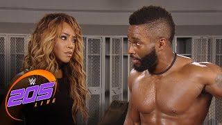 getlinkyoutube.com-Cedric Alexander breaks up with Alicia Fox: WWE 205 Live, Jan. 10, 2017