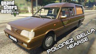getlinkyoutube.com-KARAWANEM PO GTA 5 Daewoo-FSO Polonez Bella Hearse