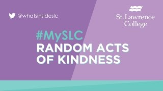 #MySLC Selfie Contest - Random Act of Kindness #1