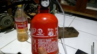 getlinkyoutube.com-Fogo com vapor de gasolina
