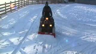 Quad-X ATV Snow Plough