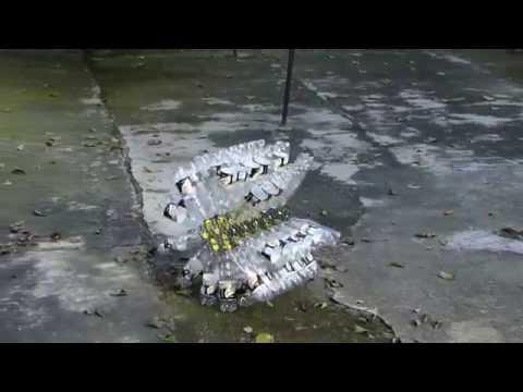 Reuso de botellas de pet convertidas en un juego: la Pet-loca de Edoble