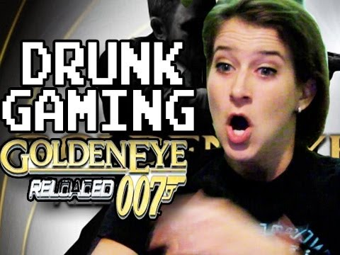 Drunk Gaming - Goldeneye!!