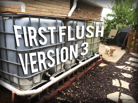 Permaculture Tip of the Day - First Flush System Version 3