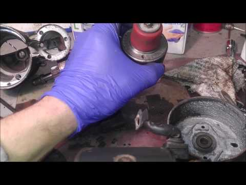 Mercedes S600 W140 starter repair