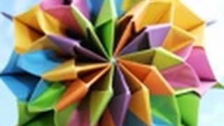 getlinkyoutube.com-origami - modular - action origami - firework - tutorial - dutchpapergirl