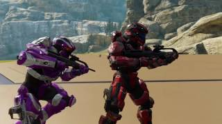 getlinkyoutube.com-All Halo 5 Assassinations Updated