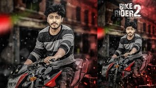 getlinkyoutube.com-Photoshop Tutorials : Bike Rider Photo Manipulation Effect