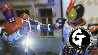 getlinkyoutube.com-Kamen Rider Faiz VS Kabuto Stop Motion仮面ライダー555 VS 仮面ライダーカブト 假面騎士Faiz VS Kabuto / 幪面超人555 VS甲鬥王