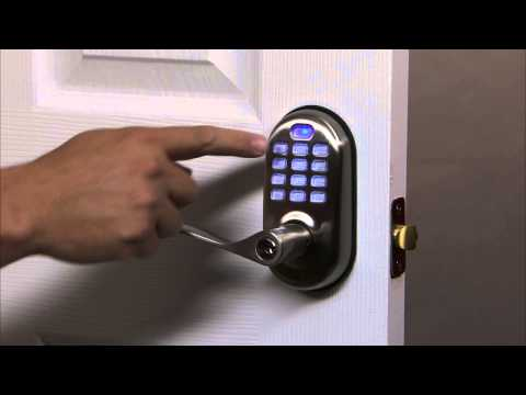 Yale Real Living Push Button Lever Lock Programming - One Touch Locking 06