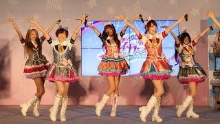 getlinkyoutube.com-STAR☆ANISがミニライブ 「アイカツ!真夏のLIVE&大発表ステージ」(2) #STAR☆ANIS #Japanese Idol