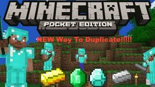 getlinkyoutube.com-NEW Way How To Duplicate in MInecraft PE v0.12.3/0.13.0/0.13.1 iOS/Android