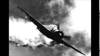 getlinkyoutube.com-神風特攻  零戦・艦上爆撃機  撃墜瞬間 Kamikaze shot down
