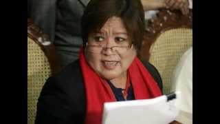 Leila De Lima Video Scandal To Be Revealed by Sandra Cam