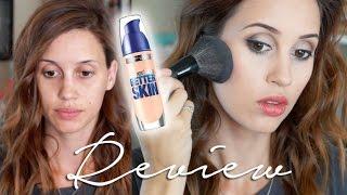 getlinkyoutube.com-NEW Maybelline SuperStay Better Skin Foundation Demo & Review