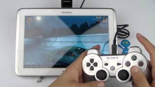 getlinkyoutube.com-معاينة توصيل يد البلاي ستيشن 3 على أجهزة أندرويد