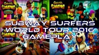 getlinkyoutube.com-SUBWAY SURFERS WORLD TOUR 2016 GAMEPLAY