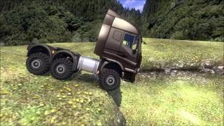 "getlinkyoutube.com-Euro Truck Simulator 2 Offroad ""Klettermax"" + Mod & Download link"