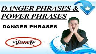 Effective Communication Skills Training: Danger Phrase for Work:
