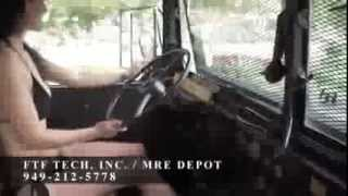 getlinkyoutube.com-1990 Doomsday M923A2 Military Truck Fully Restored from FTF Technologies Inc Mining Wars TV Pilot