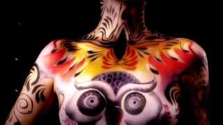 getlinkyoutube.com-PATY CARDONA -  BODY PAINT