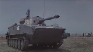 getlinkyoutube.com-PT-76 light tank (Soviet Marines)