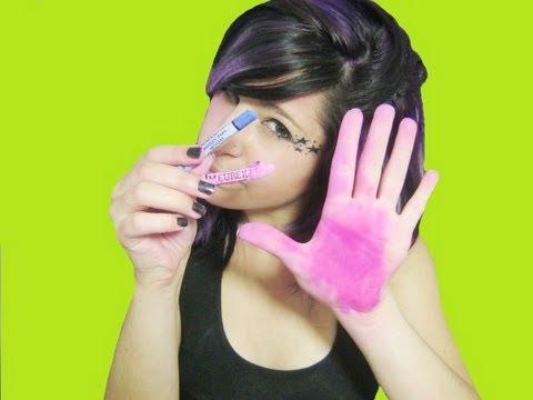 tiñe tu cabello ¡POR UN DÍA! con colores pastel ❤ (se llaman y dicen colores pastel)