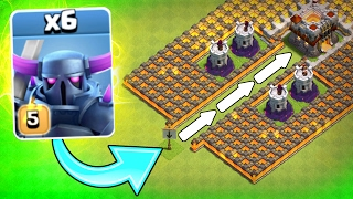 """""""THE P.E.K.K.A FUNNEL!"""" 💥 Clash Of Clans 💥 WILL IT WORK!?! NEW CoC EVENT!"""