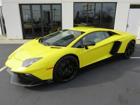 2014 Lamborghini Aventador LP720-4 50° Anniv. Start Up, Exh