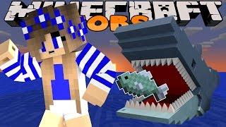 getlinkyoutube.com-Minecraft-Little Carly Adventures-JAWS ATTACK w/Little Kelly.
