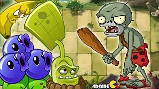 getlinkyoutube.com-Plants Vs Zombies All Stars: Prehistoric Ages World Part 3