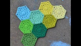getlinkyoutube.com-#وحدة_سداسية #كروشيه #crochet