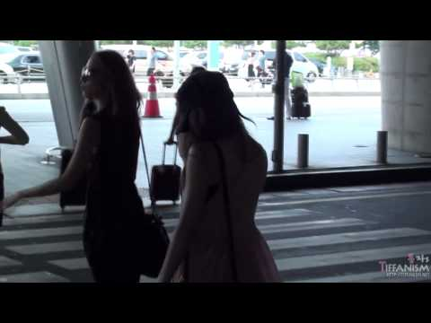 [fancam]110730 Incheon airport arrival SNSD TIFFANY