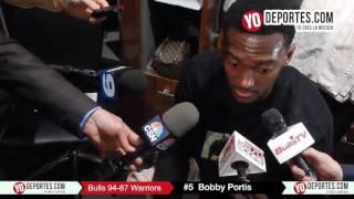 Bobby Portis Chicago Bulls 94-87 Golden State Warriors