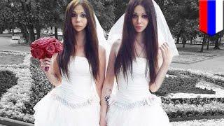 Andrógino se casa con su prometida en controvertida boda en Rusia