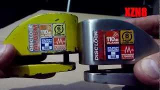 getlinkyoutube.com-Motorcycle Security - Xena Disc-Lock Alarms