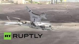 getlinkyoutube.com-Russia: First Russian 'hoverbike' tested in Moscow