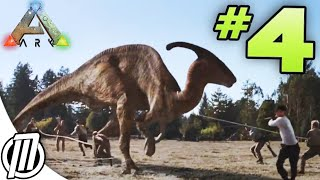 getlinkyoutube.com-Taming a Parasaur Mount!! - ARK Survival Evolved: Ep 5 -  Gameplay Live Stream