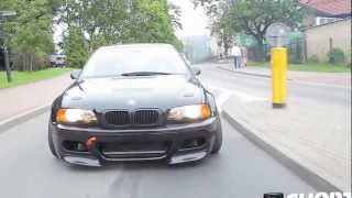 getlinkyoutube.com-Bmw E46 M3 Crazy  Street Drift [HD]