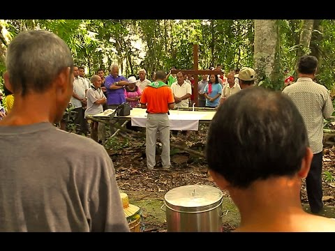 SYA 9881   Gua Niah -A Ritual of the opening of newland by the Dayak Tribe 10KM from Niah Caves.