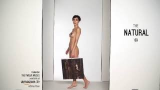 "getlinkyoutube.com-Calendar show ""THE TWELVE MUSES"" Milo Moire - Nude Art - Sexy n Funny"
