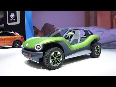 Volkswagen I.D. Buggy, электроавто, электрокар фольксваген, новости электромобилей, электро багги
