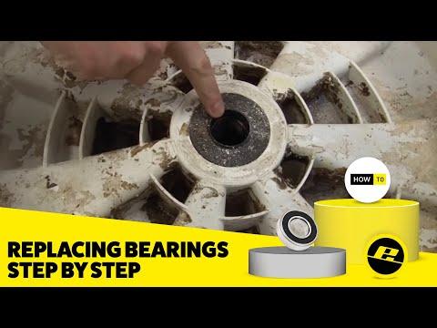 How to Replace Washing Machine Bearings