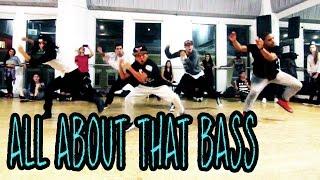 getlinkyoutube.com-ALL ABOUT THAT BASS - Meghan Trainor Dance | @MattSteffanina Choreography (CLASS Video)