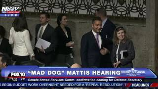 getlinkyoutube.com-FNN: Hearings for Mike Pompeo - Donald Trump's CIA Pick FULL COVERAGE Mad Dog Mattis Hearing