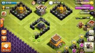 getlinkyoutube.com-[CoC:150 Sub Vid!] TH8 Pokeball Farming Base Guide by Junliang ! Must Watch ! :)